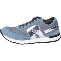 Sapatos Homem Sapatilhas Rucoline BH397 Azul
