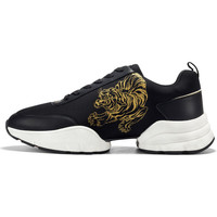 Sapatos Homem Sapatilhas Ed Hardy - Caged runner tiger black-gold Preto