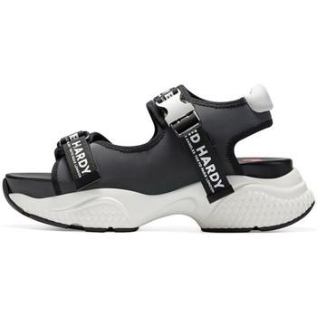 Sapatos Mulher Sandálias desportivas Ed Hardy - Aqua sandal iridescent charcoal Cinza