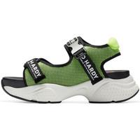 Sapatos Mulher Sandálias desportivas Ed Hardy - Aqua sandal green-black Verde