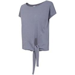 Textil Mulher T-Shirt mangas curtas 4F TSD023 Roxo