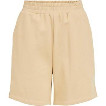 Textil Mulher Shorts / Bermudas Vila  Beige