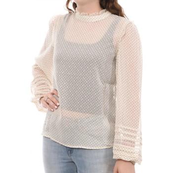 Textil Mulher Tops / Blusas Vila  Bege