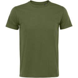 Textil Homem T-Shirt mangas curtas Sols Martin camiseta de hombre Beige