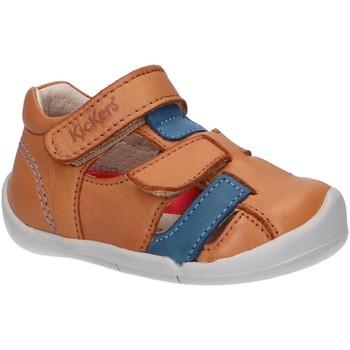 Sapatos Rapaz Sandálias Kickers 858390-10 WASABOU Beige