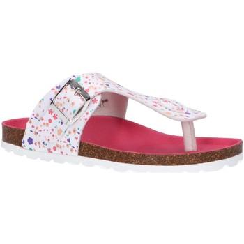 Sapatos Rapariga Chinelos Kickers 784464-30 SUMMERIZA Blanco