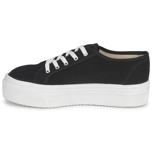 Yurban SUPERTELA Preto - Entrega gratuita- Sapatos Sapatilhas Mulher 36