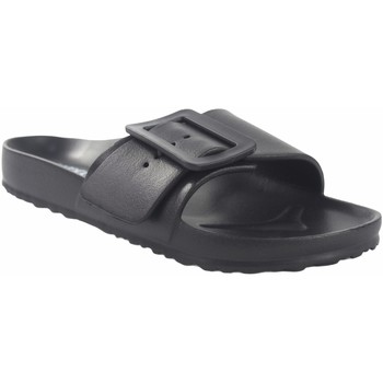 Sapatos Mulher Chinelos Kelara Praia da senhora  02022 preto Preto