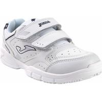 Sapatos Rapaz Multi-desportos Joma Deporte niño  school 2142 bl.azu Branco