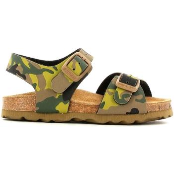 Sapatos Criança Sandálias Grunland SB0169 Amarelo