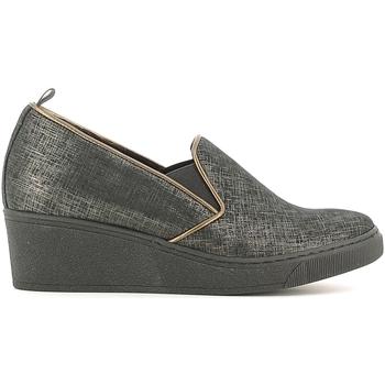 Sapatos Mulher Mocassins Grunland SC2057 Preto