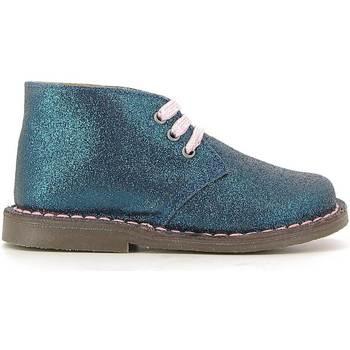 Sapatos Criança Botas baixas Grunland PO0579 Azul