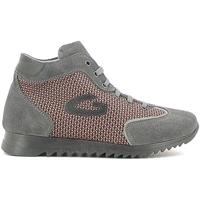 Sapatos Rapariga Sapatilhas de cano-alto Alberto Guardiani GK22340G Cinzento
