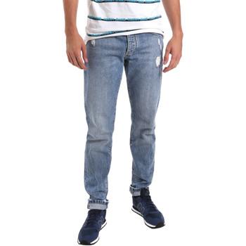Textil Homem Calças de ganga slim Sseinse PJE625SS Azul