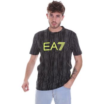 Textil Homem T-Shirt mangas curtas Ea7 Emporio Armani 6HPT04 PJB1Z Preto