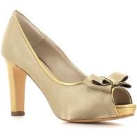 Sapatos Mulher Escarpim Grace Shoes 834 Ouro