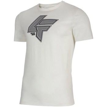 Textil Homem T-Shirt mangas curtas 4F TSM010 Branco
