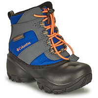 Sapatos Criança Botas de neve Columbia CHILDRENS ROPE TOW Azul / Laranja