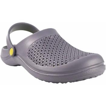 Sapatos Homem Tamancos Kelara Playa caballero  92008 gris Cinza