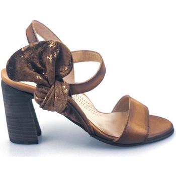 Sapatos Mulher Sandálias PintoDiBlu 63510-01 Castanho