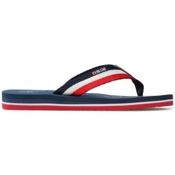 Sapatos Homem Chinelos Big Star HH174827 Azul marinho