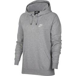 Textil Mulher Sweats Nike Essential Fleece Pullover Hoodie Cinzento