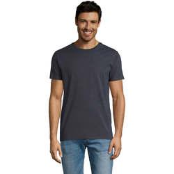 Textil Homem T-Shirt mangas curtas Sols Martin camiseta de hombre Gris