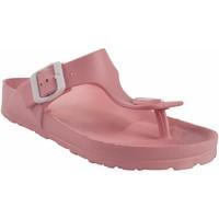 Sapatos Mulher Chinelos Kelara Senhora da praia  k12018 rosa Rosa