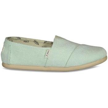 Sapatos Mulher Alpargatas Paez Alpergatas Gum Original Classic W Combi Green Mist Verde