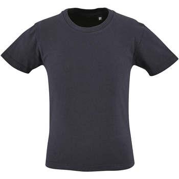 Textil Criança T-Shirt mangas curtas Sols CAMISETA DE MANGA CORTA Azul