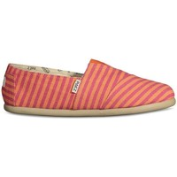 Sapatos Mulher Alpargatas Paez Alpergatas Gum Original Classic W Surfy Pink Rosa