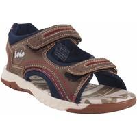 Sapatos Rapaz Sandálias desportivas Lois Sandalia niño  63117 marron Castanho