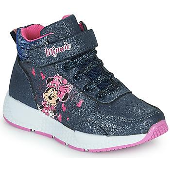 Sapatos Rapariga Sapatilhas de cano-alto Disney MINNIE Preto