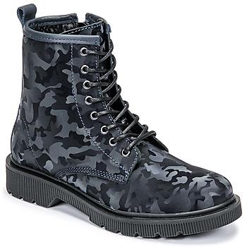 Sapatos Mulher Botas baixas Fericelli PARMA Marinho