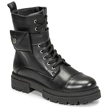 Sapatos Mulher Botas baixas Fericelli PERNILLE Preto