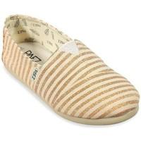 Sapatos Mulher Alpargatas Paez Alpercatas Gum Original Classic W Surfy Lurex Copper Ouro