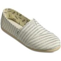 Sapatos Mulher Alpargatas Paez Alpercatas Gum Original Classic W Surfy Lurex Diamond Cinza