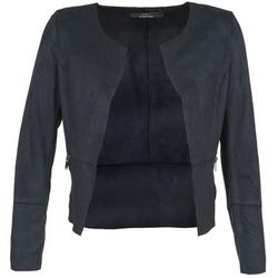 Textil Mulher Casacos de couro/imitação couro Only KIM Marinho