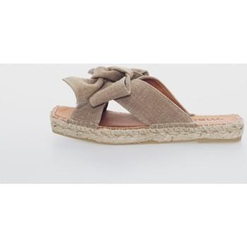 Sapatos Mulher Alpargatas Macarena MIKO 7 Marrón