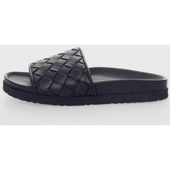 Sapatos Mulher Chinelos Kamome C1423 Negro