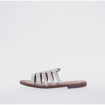 Sapatos Mulher Chinelos Wikers 77359 Blanco