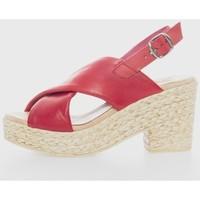 Sapatos Mulher Sandálias Cokketta 490 Rojo