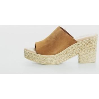 Sapatos Mulher Chinelos Cokketta 493 Marrón