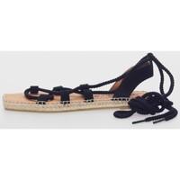 Sapatos Mulher Alpargatas Macarena MERY 9 Negro