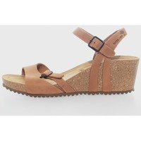Sapatos Mulher Sandálias Interbios 5612 Marrón