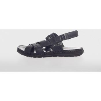 Sapatos Homem Sandálias Walk & Fly 28200 Negro