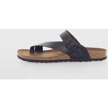 Sapatos Mulher Chinelos Interbios 9511 Marrón
