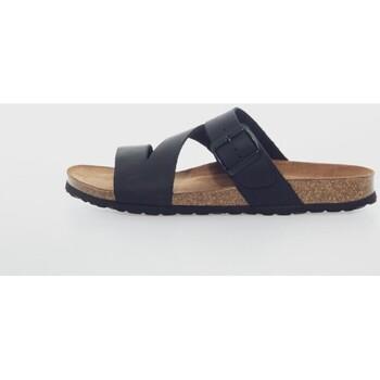 Sapatos Mulher Chinelos Interbios 9553 Negro