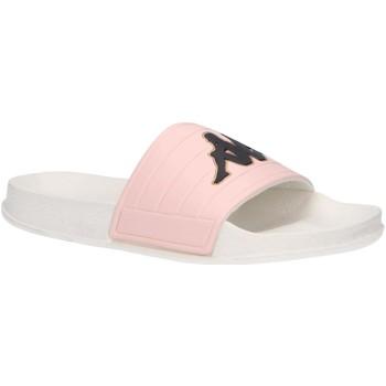 Sapatos Rapariga chinelos Kappa 304Q930 LOGO MATESE Blanco