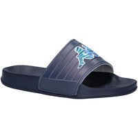 Sapatos Rapaz chinelos Kappa 304Q930 LOGO MATESE Azul